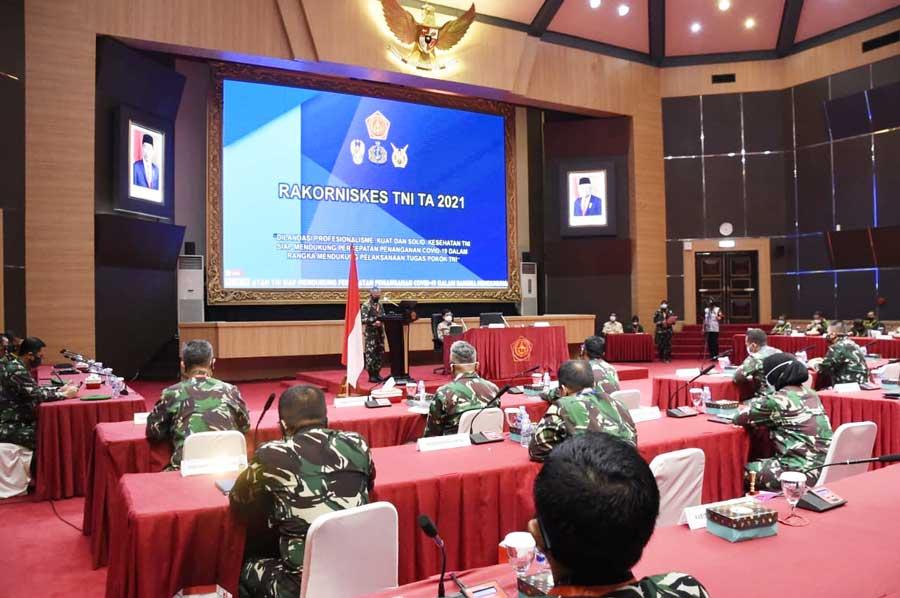 Rakorniskes TNI Tahun 2021