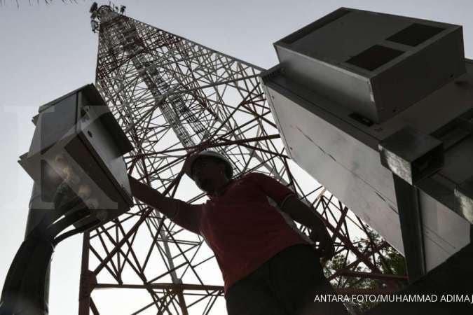 Warga Kecamatan Sobang mengeluhkan lemahnya jaringan telepon hingga internet di wilayah Kecamatan Sobang, Kabupaten Lebak,