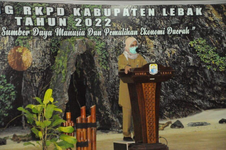 (Pemkab) Lebak melalui Badan Perencanaan, Penelitian dan Pengembangan Daerah (Bapelitbangda) Kabupaten Lebak menggelar kegiatan Musrenbang