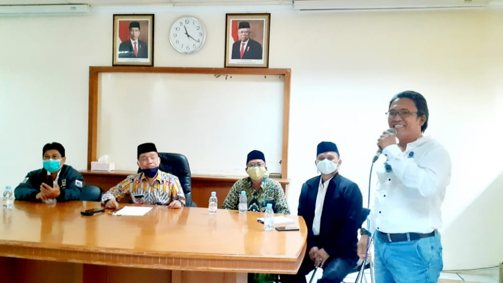Pelaksanaan Vaksinasi Covid19 di Kecamatan Taman Sari, PWI Koordinatoriat Jakarta Barat menyatakan siap bersinergi saat konsolidasi