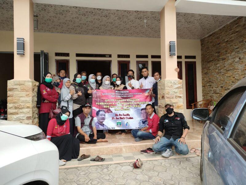 PKH Lebak road show dalam rangka pembinaan dan peningkatan kapasitas SDM pendamping pada Program Keluarga Harapan (PKH) pada Jumat