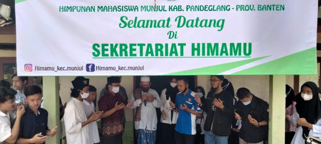 Kantor Sekretariat Himamu telah diresmikan sekaligus pelantikan Himpunan Mahasiswa Munjul (Himamu) masa khidmat 2021-2022.