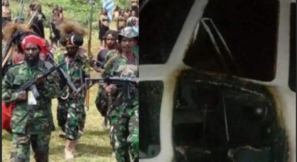 Selain ancam pendidikan, Kelompok Kriminal Bersenjata (KKB) menebar aksi teror dunia penerbangan. Kali ini satu unit helikopter
