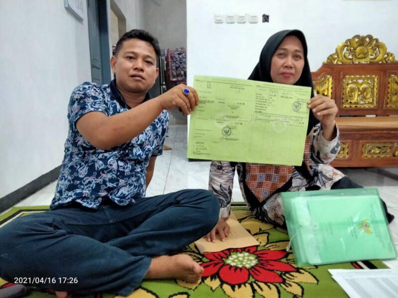istri mantan Kepala Desa (Kades) Cibugel Dedeh selaku ahli waris menyatakan bahwa sertifikat yang dipertanyakan oleh H.Sarif warga Cibugel