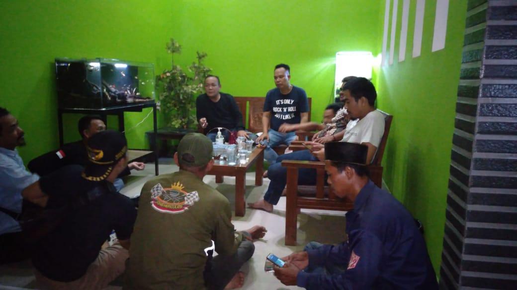 pererat sinergi (Ormas) Badak Banten melalui DPD Badak Banten Kabupaten Lebak mengadakan pertemuan silahturahmi dengan DPC