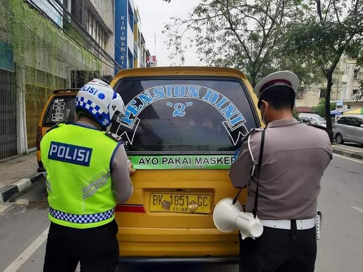 Polda (Sumut) mencatat adanya sejumlah tindak pelanggaran lalu lintas selama 7 hari pelaksanaan Operasi Keselamatan Toba 2021.