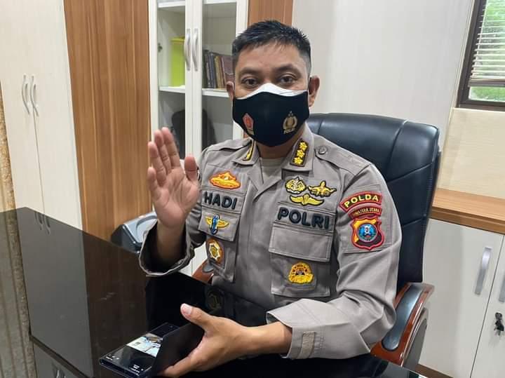 (Ditlantas) Polda Sumatera Utara (Sumut) mensosialisasikan penerapan Electronic Traffic Law Enforcement (ETLE) atau tilang elektronik