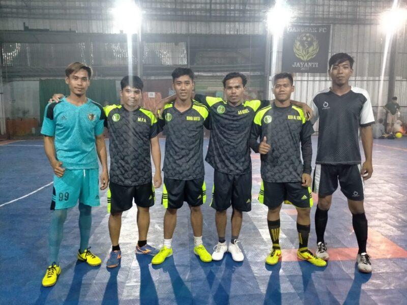 Tim Futsal Club Naga FC akan kembali mengikuti pertandingan dalam ajang olahraga futsal liga Ramadhan 2021 sejak 15 April hingga