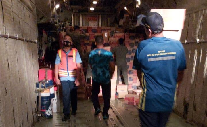 Korban Bencana Alam NTT mendapatkan bantuan dari Panglima TNI Marsekal TNI Hadi Tjahjanto,S.IP. dengan mengirimkan bantuan