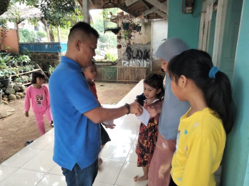 (Kabiro) Media Cakratara.com Lebak, Anton Hermawan mengatakan jeritan anak yatim suara hati pribadinya. Hal itu berkeinginan berbagi rezeki
