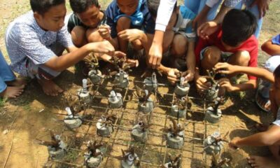 (FPTK) Provinsi Banten bersama Dinas Pendidikan dan Kebudayaan (Dindikbud) menggagas Pendidikan Karakter Pelestari Terumbu Karang