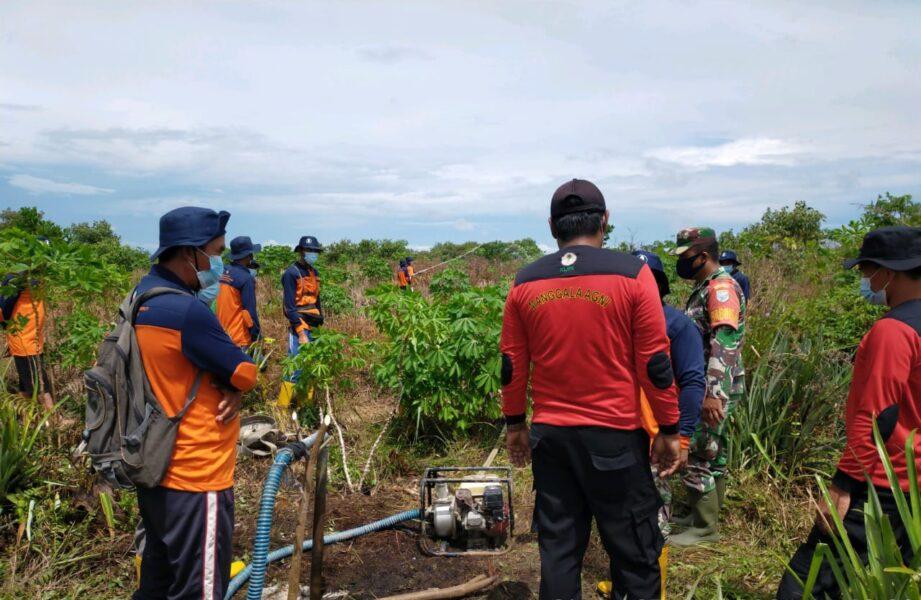 (Koramil) 1208-04/Jawai, melaksanakan kegiatan patroli terpadu pencegahan Kebakaran Hutan dan Lahan (Karhutla) Kabupaten Sambas
