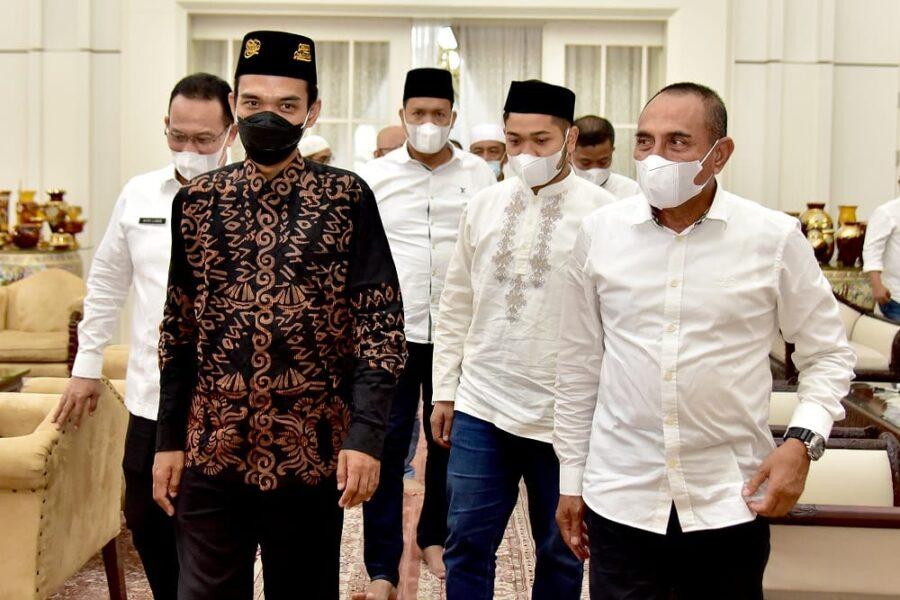 Ustaz Abdul Somad (UAS) mengatakan Sumatera Utara merupakan provinsi yang memiliki masyarakat beragam etnis, budaya dan agama.