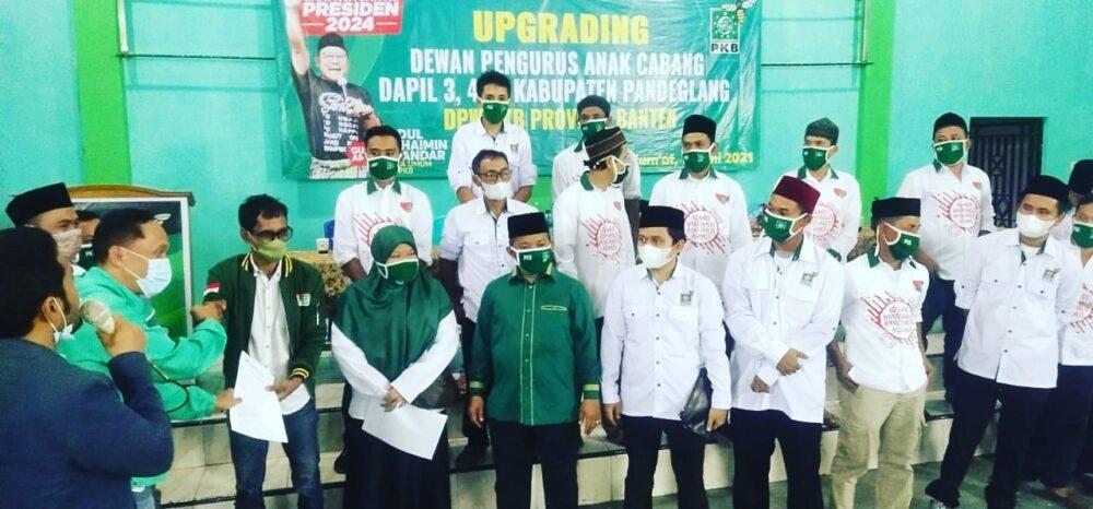 DPW PKB Banten terus melakukan berbagai kegiatan penguatan mesin di seluruh wilayah Provinsi yang diawali pengurus tingkat Kecamatan