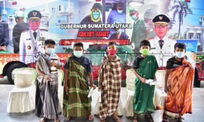 layanan kesehatan gratis kepada masyarakat di berbagai daerah dengan menggunakan Bus Operasi Lapangan atau Rumah Sakit Bergerak