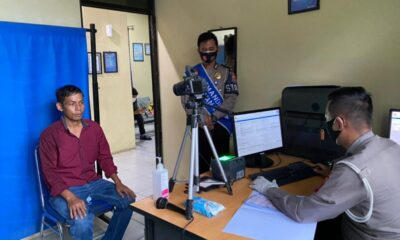 Warga apresiasi Jajaran Kepolisian Resort (Polres) Pandeglang memberikan pelayanan prima kepada masyarakat saat mengurus pembuatan (SIM)