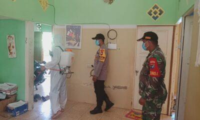 meningkatnya Covid19 di wilayah Kalimantan Barat (Kalbar), Gubernur memerintah seluruh pejabat daerah untuk melakukan sterilisasi