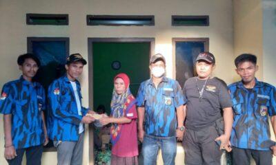 Badak Banten DPC Warunggunung turut berduka cita atas meninggalnya korban kecelakaan dengan mengunjungi Rumah Duka Almarhum Rusmadi