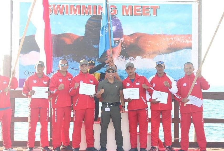 Pasukan militer Indonesia menorehkan prestasi ditingkat internasional. Tim dari Satgas Indo FPC XXVI-M2 sabet juara umum UNIFIL HQ Swimming