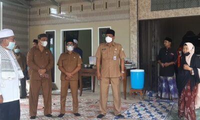 Pemerintah Kabupaten (Pemkab) Aceh Timur melayat ke rumah duka Ulama Kharismatik Almarhum Imam Besar Masjid Agung Darusshalihin
