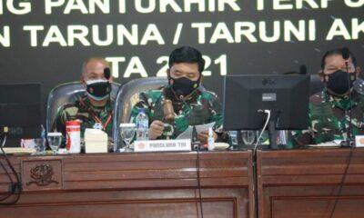 Panglima TNI menjelaskan bahwa proses seleksi penerimaan Taruna/Taruni Akademi TNI TA 2021 telah dilaksanakan dengan lengkap