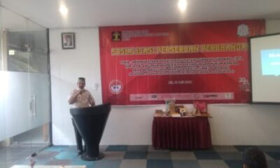 Sejumlah pelaku UMKM mengikuti sosialisasi perseroan perorangan yang dibuka Bupati Aceh Timur H. Hasballah bin H.M Thaib di Royal Idi Hotel
