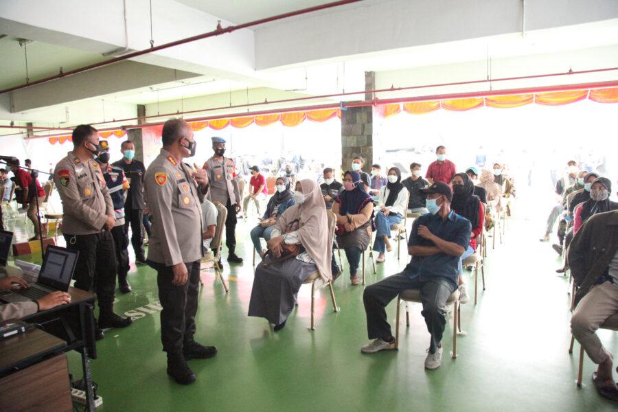 30 tahun pengabdian, Alumni Akademi Kepolisian (Akpol) 91 bersama Polresta Bandara Internasional Soekarno-Hatta (Soetta) menggelar vaksinasi