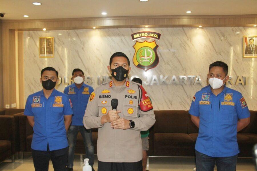Satuan Narkoba Polres Metro Jakarta Barat berhasil mengungkap jaringan narkoba lintas Provinsi Banten - Jakarta - Bogor mengamankan terduga