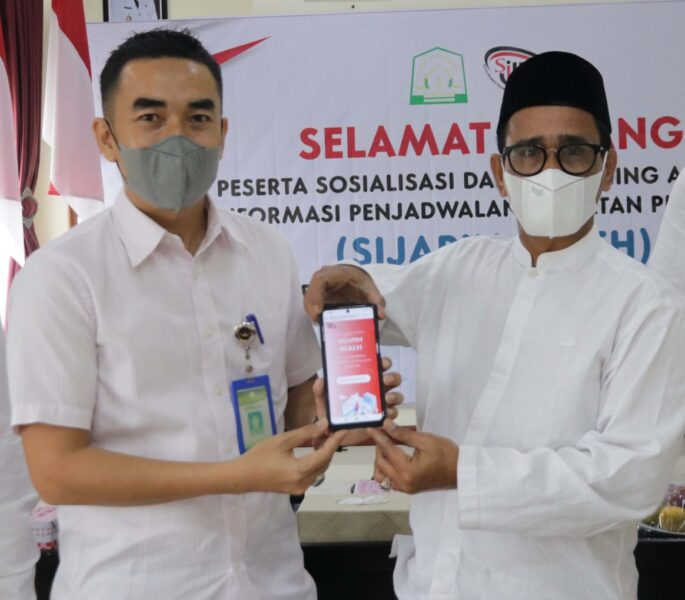 Sekda) Kabupaten Aceh Timur secara resmi membuka kegiatan sosialisasi dan launching Aplikasi Informasi penjadwalan kegiatan pimpinan daerah