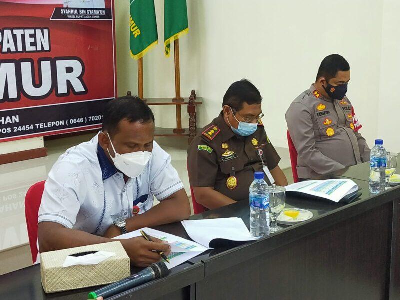 Maraknya penyebaran Covid19 di sejumlah daerah, Bupati Kabupaten Aceh Timur H Hasballah mengimbau masyarakat agar memperketat (Prokes).