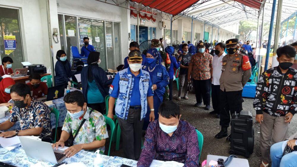 Dalam rangka mendukung dan sukseskan program pemerintah, DPC Partai Demokrat Kabupaten Tangerang menyelenggarakan vaksinasi massal