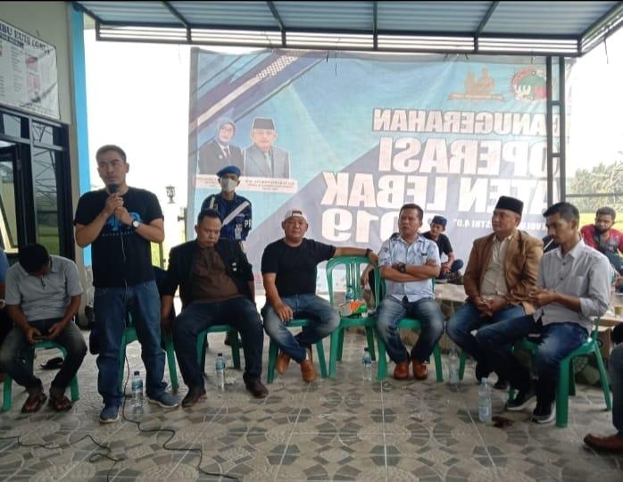 Ormas Badak Banten DPD Kabupaten Lebak menggelar rapat kordinasi (Rakor) sekaligus sebagai ajang silaturahmi bertempat di Gedung Sentra