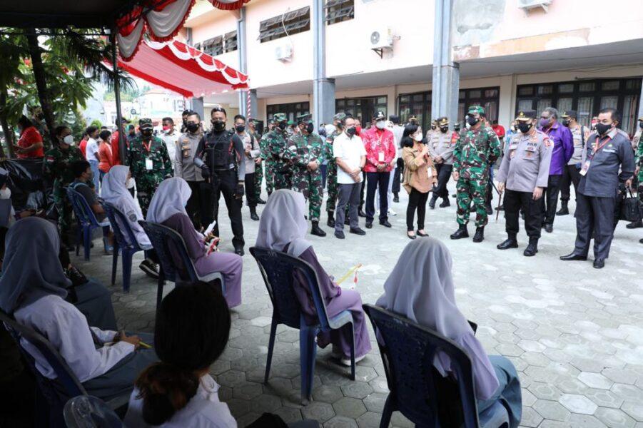 Panglima TNI, Kapolri dan Menpora RI menyambut baik inovasi Prajurit TNI-Polri, setelah sebelumnya juga dari Lanud Silas Papare