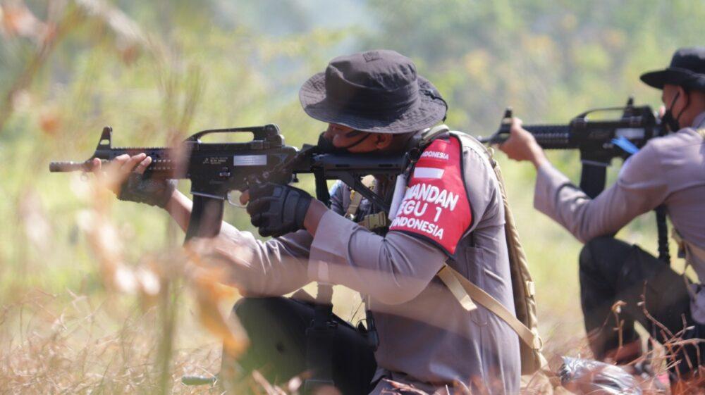 152 Personel FPU 3 MINUSCA untuk misi perdamaian Perserikatan Bangsa-Bangsa (PBB) di wilayah konflik Afrika melaksanakan kegiatan terakhir
