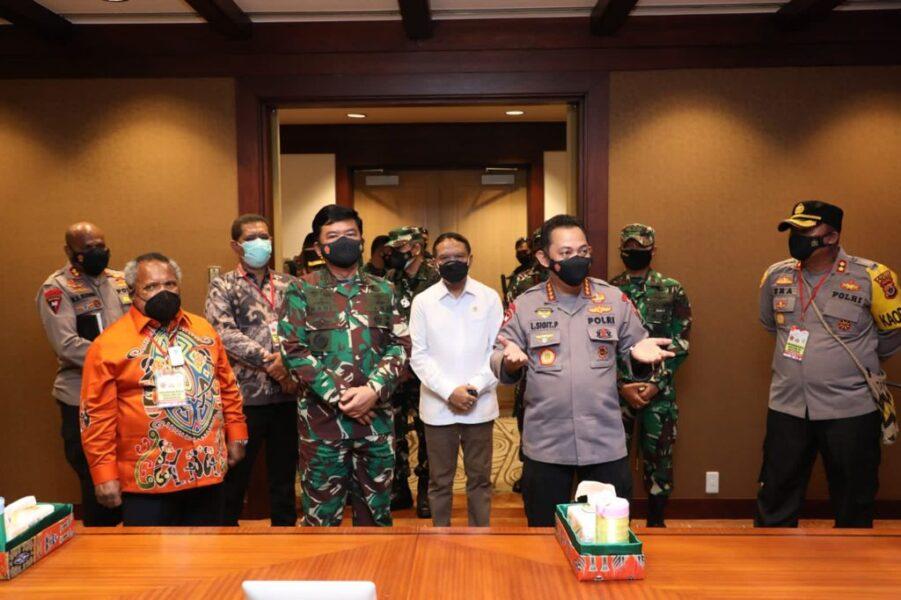 Keberhasilan dalam penanganan kasus Covid19 turun dan penyelenggaraan PON XX Tahun 2021 di Papua akan menjadi kebanggaan akyat Indonesia