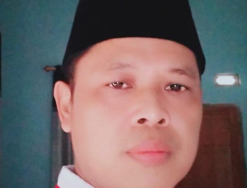 Salah satu bakal calon (Balon) kepala desa (Kades) Margatirta Adin Wahyudin yang siap berkompetisi untuk kemajuan masyarakat
