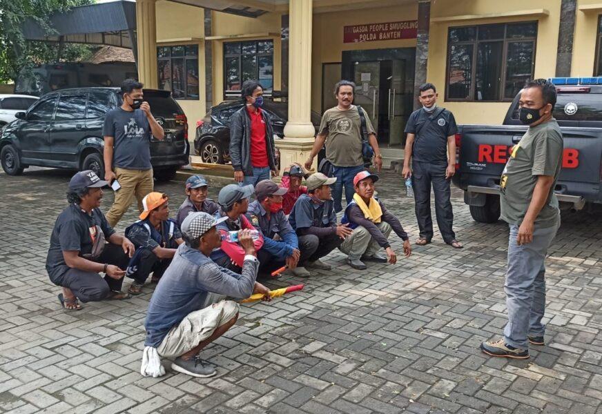 Polda Banten operasi cipta kondisi penertiban premanisme untuk memberikan rasa aman bagi masyarakat demi terwujudnya situasi kamtibmas