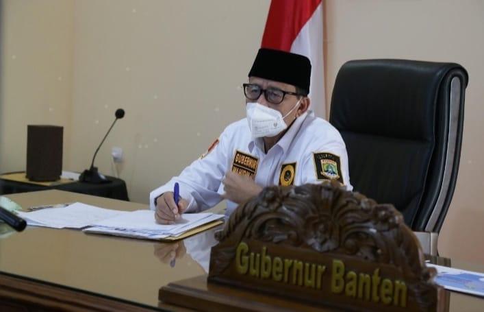 Gubernur Banten Wahidin Halim (WH) kembali memperpanjang Pemberlakuan Pembatasan Kegiatan Masyarakat (PPKM) hingga 6 September 2021