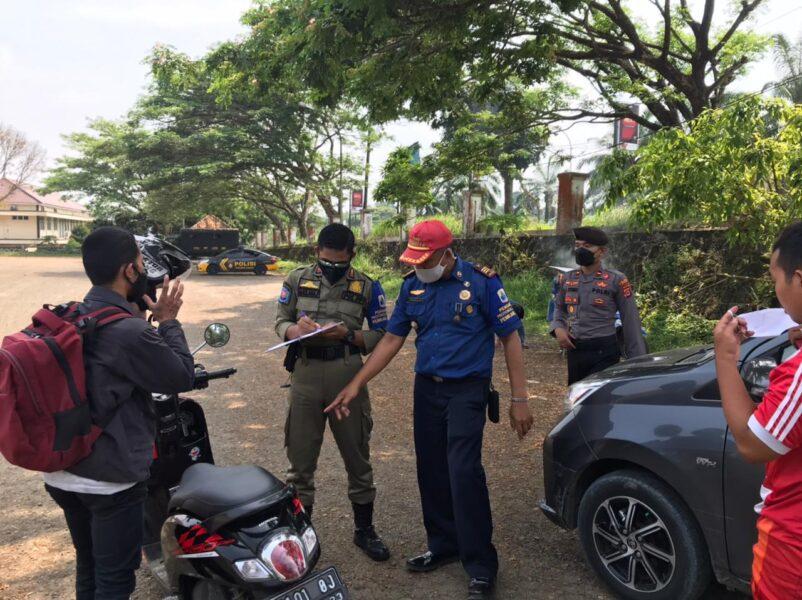 PPKM Level 2 sampai tanggal 6 September 2021, Polres Lebak Polda Banten bersama Satgas Covid19 Kabupaten Lebak terus melakukan Ops Yustisi