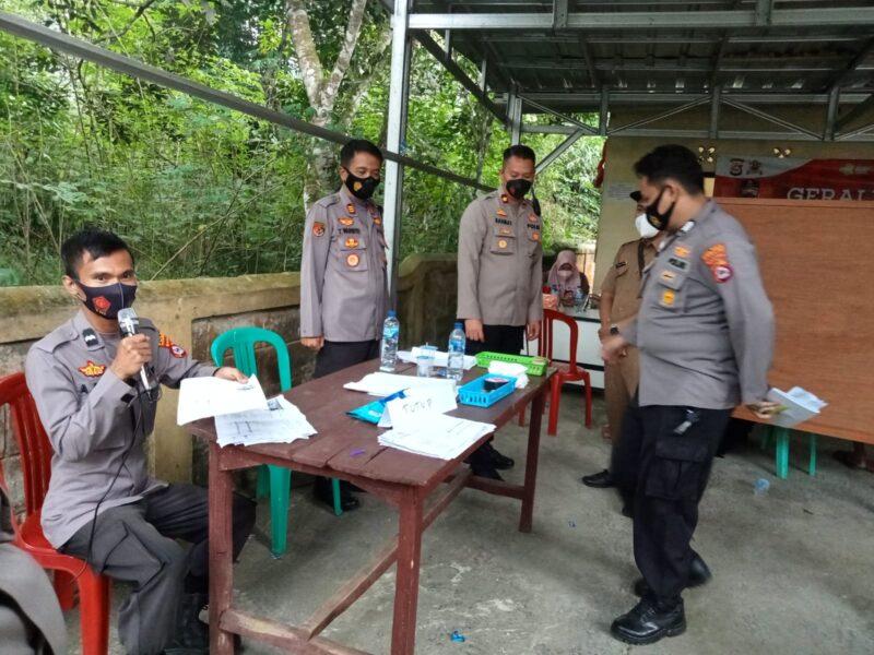 Kepolisian Resort (Polres) Pandeglang kembali menggelar vaksinasi Covid -19 secara massal di 24 Polsek yang ada di wilayah hukum