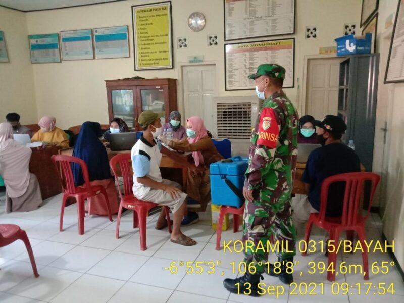 Pemerintah Desa (Pemdes) Pamubulan menggelar vaksinasi tahap 1 gelombang kedua dalam upaya memutus mata rantai penyebaran Covid-19