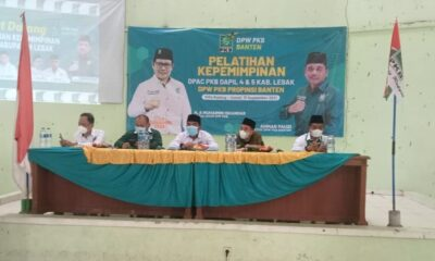 Partai Kebangkitan Bangsa (PKB) Kabupaten Lebak DPC Dapil 4 dan 5 menggelar pelatihan kaderisasi baru yang bertujuan untuk menciptakan kader
