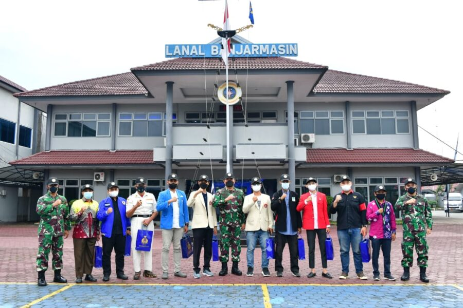 Kasal Laksamana Yudo Margono memberikan penguatan para Pemuda di Kalimantan harus mampu berjuang dengan seluruh elemen masyarakat