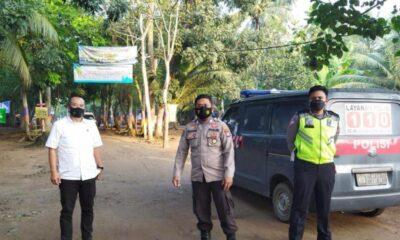 Kepolisian Resort (Polres) Pandeglang telah menerjunkan 89 Personel mengamankan sejumlah jalur dan Kawasan Wisata pada libur akhir pekan