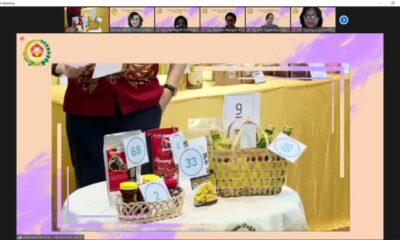 Dharma Pertiwi menggelar lomba kuliner Usaha Mikro Kecil dan Menengah (UMKM). Kegiatan lomba kuliner UMKM tahun 2021 dibuka oleh Ketua Umum