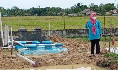 Aktivis muda dari Pleton Pemuda, Aris Doris menuding oknum pelaksana pekerjaan Instalasi Pengolah Air Limbah (IPAL) Puskesmas Patia