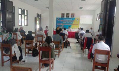 Dinas Pendidikan dan KPAI Kabupaten Lebak mengadakan sosialisasi Sekolah Ramah Anak (SRA) tingkat TK, SD dan SMP Kecamatan Cibeber