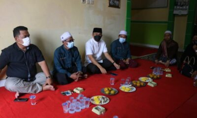 Kapolres Pandeglang AKBP Belny Warlansyah melaksanakan kegiatan silaturahmi dengan Pengurus Forum Silaturahmi Pondok Pesantren (FSPP)