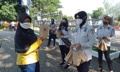 Tim Pokja Zona Integritas Lapas Rangkasbitung melaksanakan kegiatan Public campaign (kampanye publik) tentang pengendalian gratifikasi