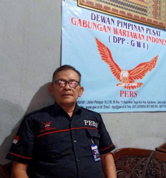 (Ketum) Gabungan Wartawan Indonesia (GWI) menegaskan atas nama Makmur Napitupulu bukan Litbang DPP. Pasalnya, sudah mengundurkan diri